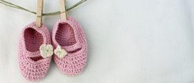 More girls would live if not for abortion | Cute girl baby shoes (Shutterstock/Ida Karolina Rosanda)