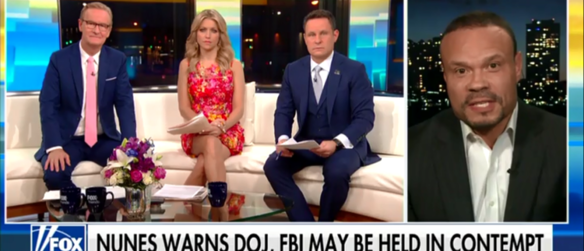 Dan Bongino Bashes FBI And DOJ For Hiding Document And Supports Contempt Charges For Non-compliance - Fox & Friends 3-26-18