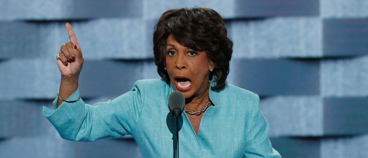 U.S. Representative Maxine Waters (D-CA) speaks on the third day of the Democratic National Convention in Philadelphia, Pennsylvania, U.S. July 27, 2016. REUTERS/Mike Segar
