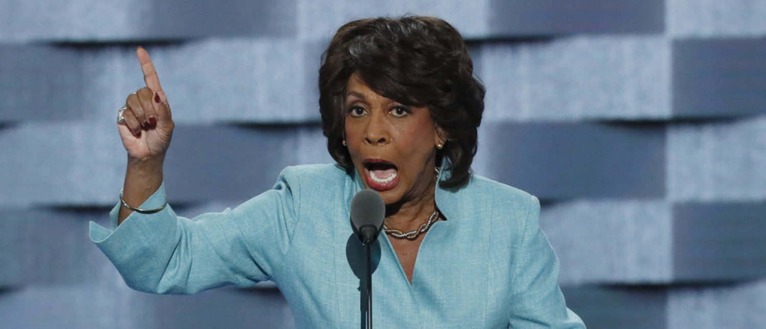 U.S. Representative Maxine Waters (D-CA) speaks on the third day of the Democratic National Convention in Philadelphia, Pennsylvania, U.S. July 27, 2016. REUTERS/Mike Segar | Maxine Waters Still Planning Impeachment