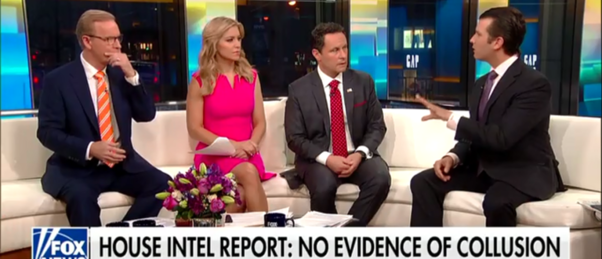 Donald Trump Jr. Points Out The Obvious -- Democrats' Obstruction Has Screwed Them For 2018 -- 3-13-18 (Screenshot/Fox News)