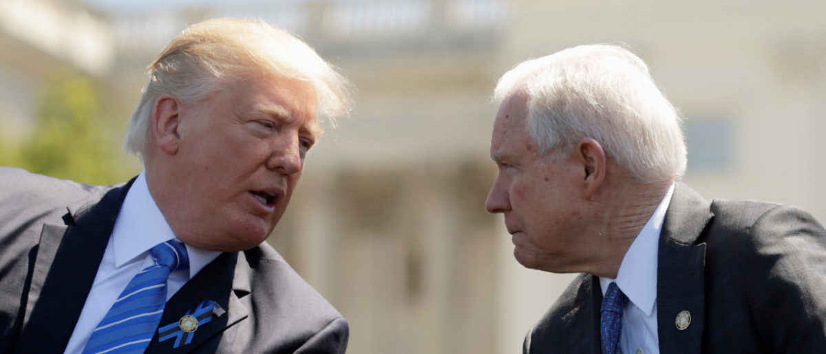 Trump Calls On Sessions To End Mueller Investigation