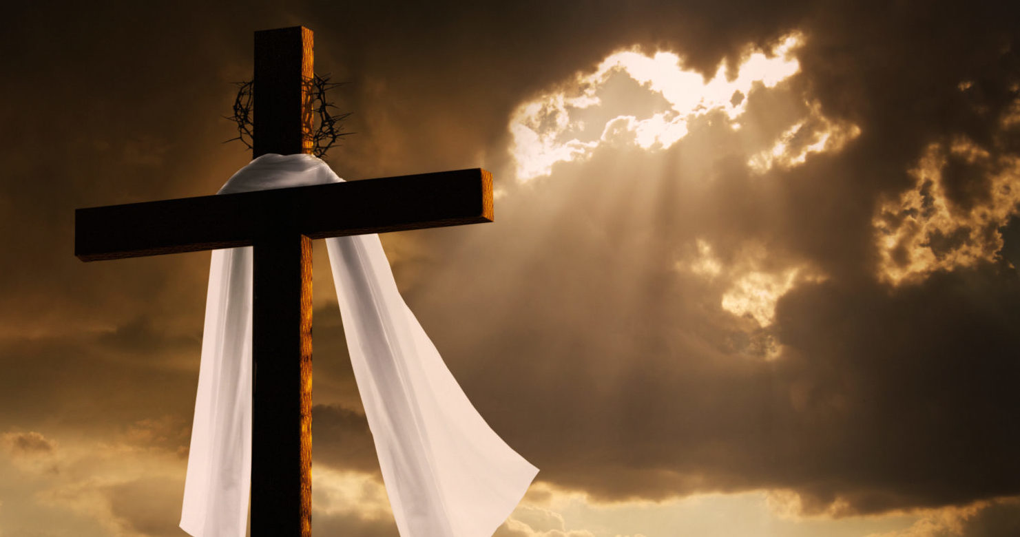 Empty Cross On Easter (Shutterstock/ Ricardo Reitmeyer) | NPR Doesn't Know What Easter Is