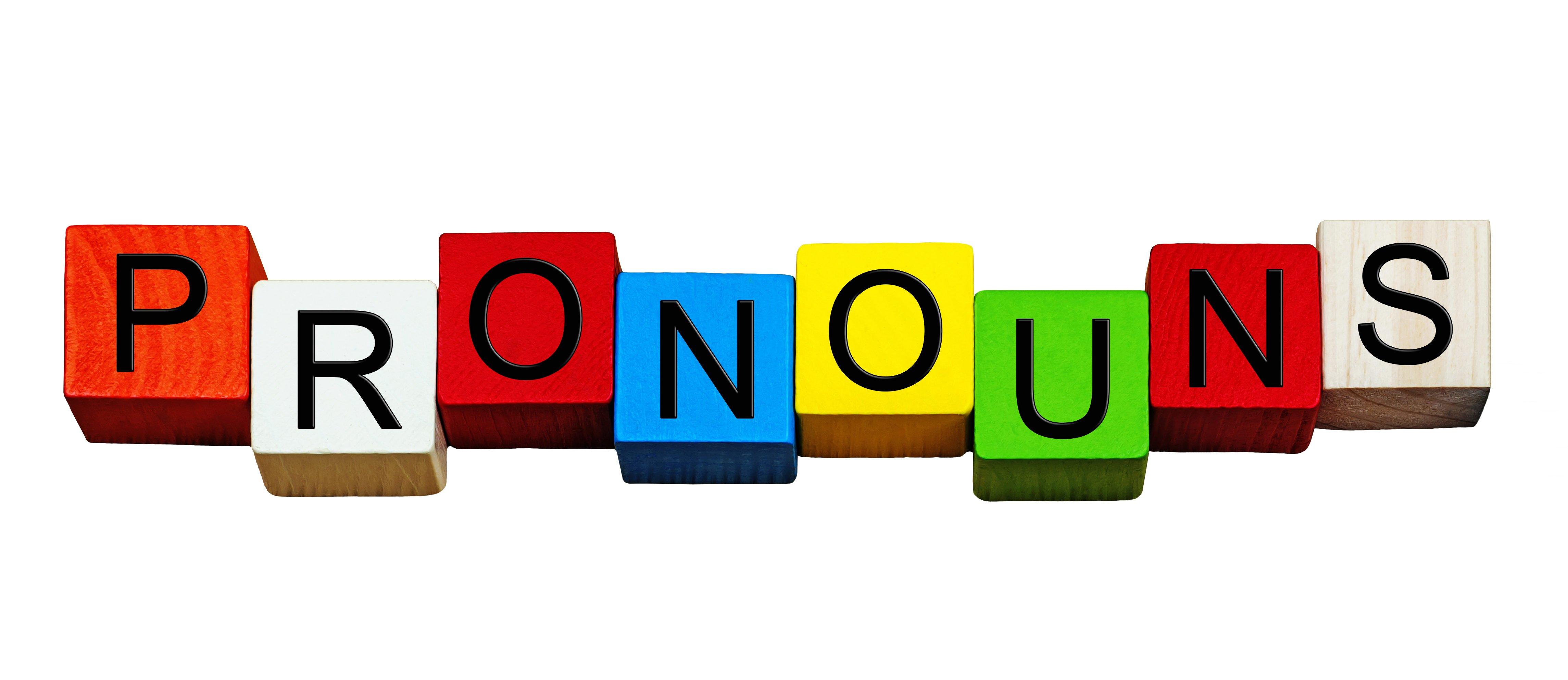 English language sign series (Shutterstock/Ed Samuel) | UMD Celebrates Trans Friendly Pronouns