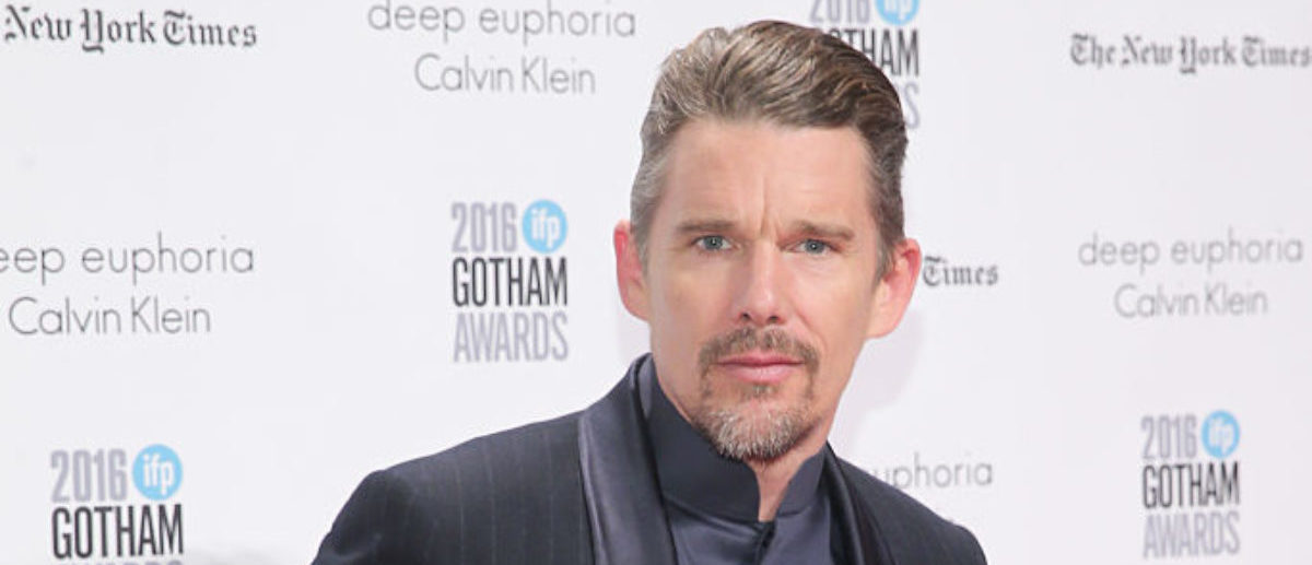 NEW YORK, NY - NOVEMBER 28: Ethan Hawke attends IFP's 26th Annual Gotham Independent Film Awards at Cipriani, Wall Street on November 28, 2016 in New York City. (Photo by Jemal Countess/Getty Images for IFP)