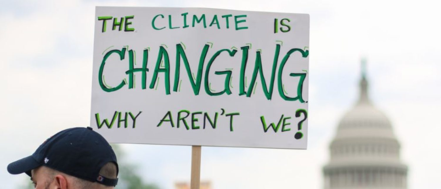 Washington, DC - April 29, 2017: Thousands of people attend the People's Climate March to stand up against climate change. (Shutterstock/Nicole S Glass) | MeToo Movement Takes Toll On California