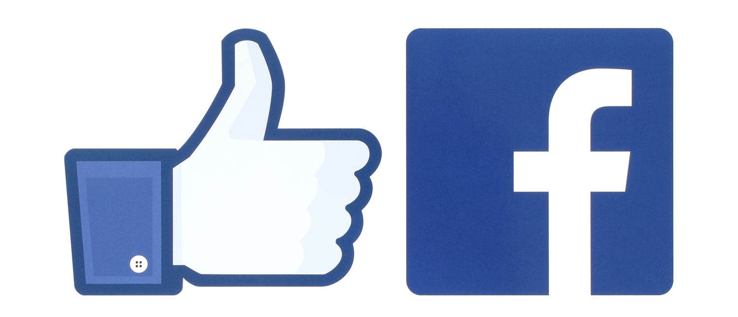 Facebook logo and the like button. [Shutterstock - rvlsoft]