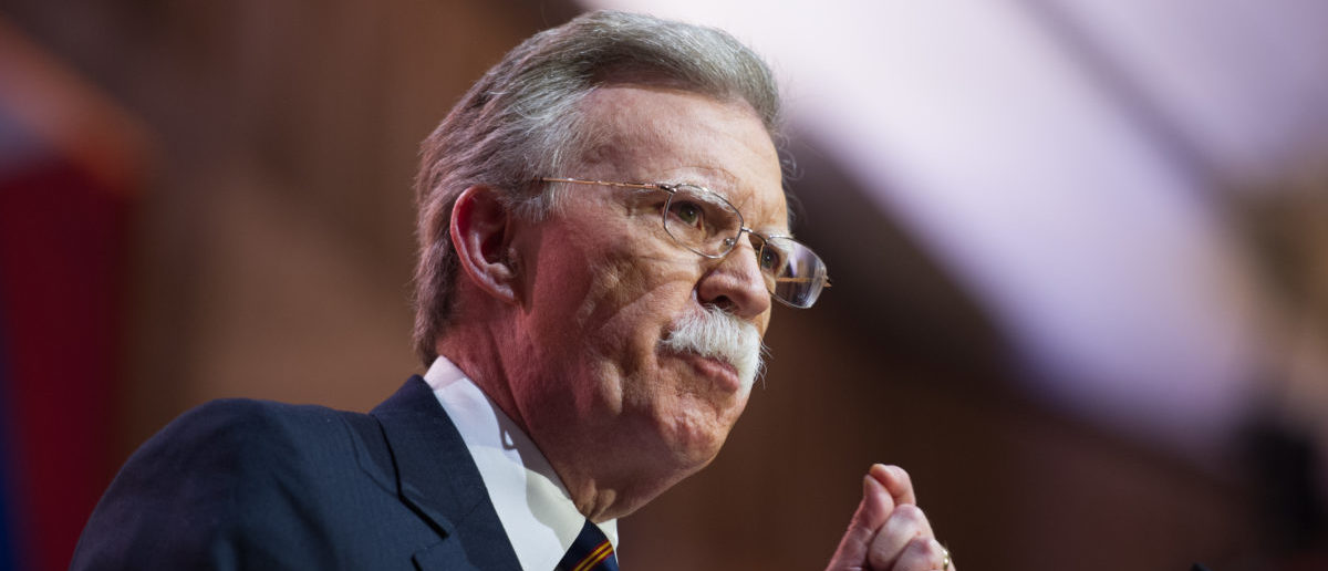 Former United Nations Ambassador John Bolton speaks at the Conservative Political Action Conference. (Photo: ShutterStock By Christopher Halloran)