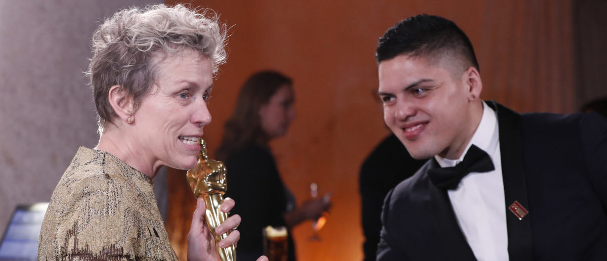 90th Academy Awards - Oscars Governors Ball - Hollywood, California, U.S., 04/03/2018 – Frances McDormand and Pedro McDormand Coen. REUTERS/Mario Anzuoni