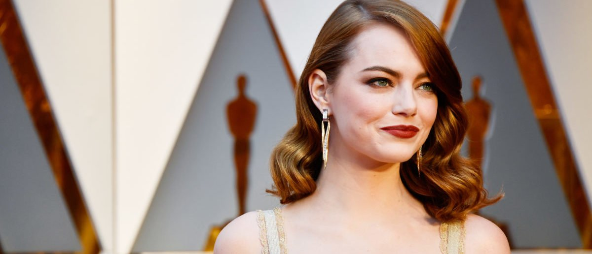 Emma Stone is mainly Swedish, but has Irish ancestry along with German, English and Scottish heritage. (Photo: Frazer Harrison/Getty Images)