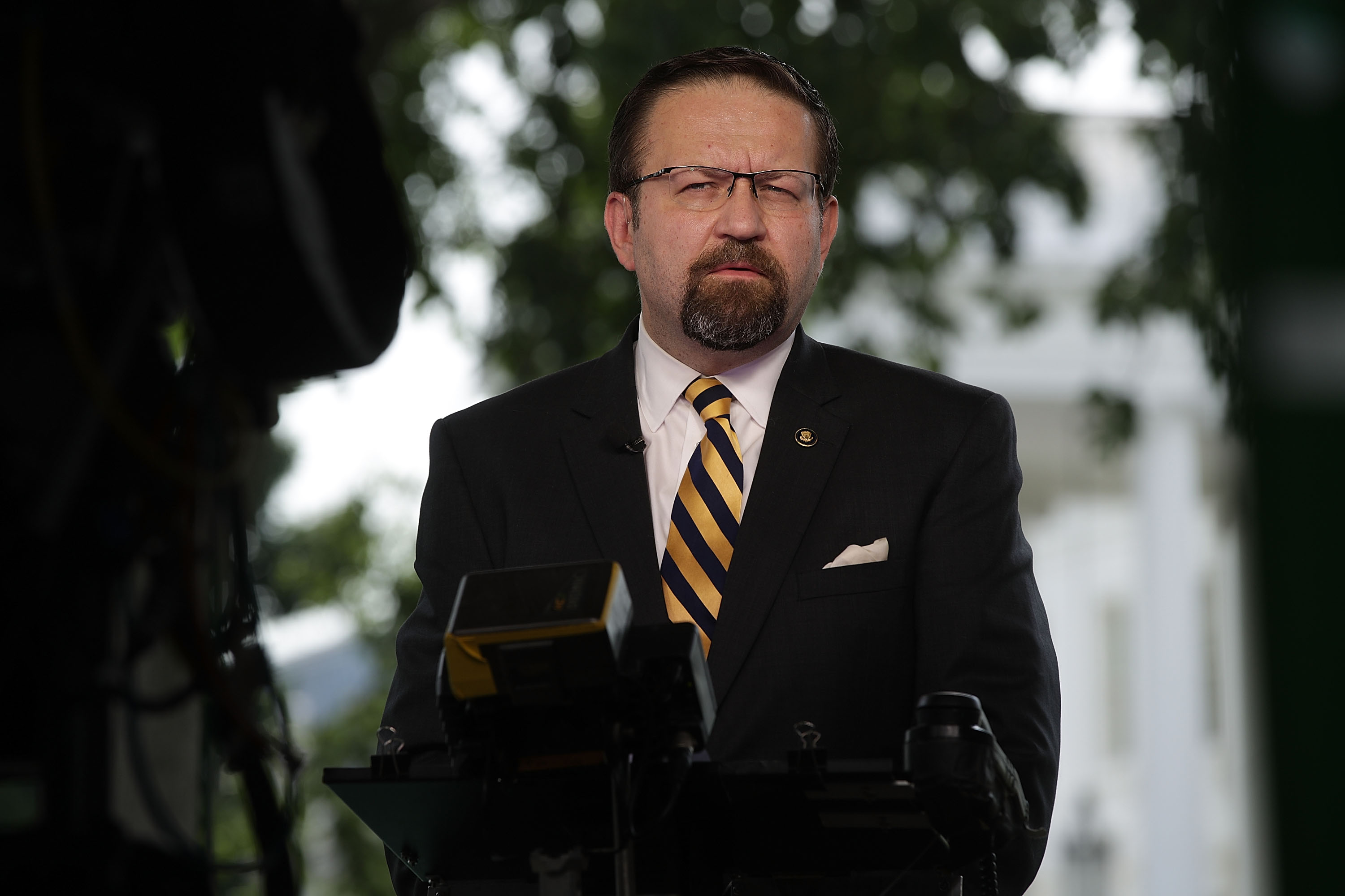 Former White House Deputy Assistant to the president Sebastian Gorka left the White House in 2017. (Photo by Alex Wong/Getty Images)