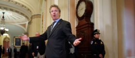 Rand Paul Grabs A Pizza, Destroys Omnibus Bill Tweet By Tweet