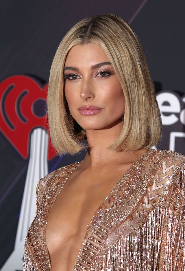 iHeartRadio Music Awards - Arrivals Pictured: Hailey Baldwin Picture by: Jen Lowery / Splash News