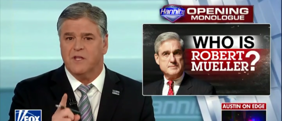 Hannity Digs Up Dirt On Mueller's Past And Finds He's Not So Clean After All - Fox Nes 3-20-18