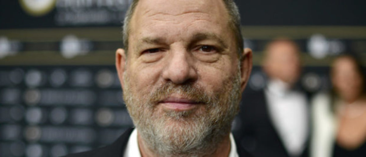 ZURICH, SWITZERLAND - SEPTEMBER 22: Harvey Weinstein attends the 'Lion' premiere and opening ceremony of the 12th Zurich Film Festival at Kino Corso on September 22, 2016 in Zurich, Switzerland. The Zurich Film Festival 2016 will take place from September 22 until October 2. (Photo by Alexander Koerner/Getty Images)