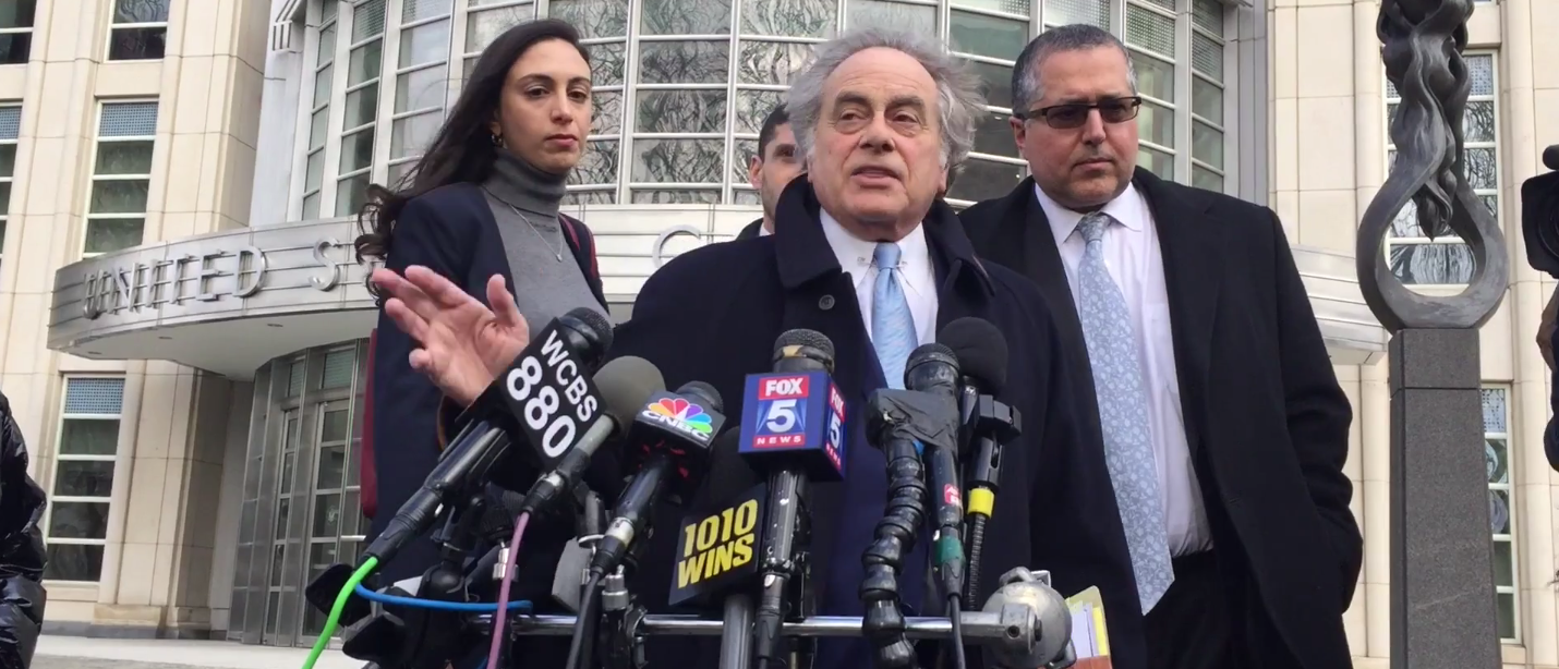 New York City authorities speak to reporters about Sunday night's fatal helicopter crash (Screenshot/New York Daily News)