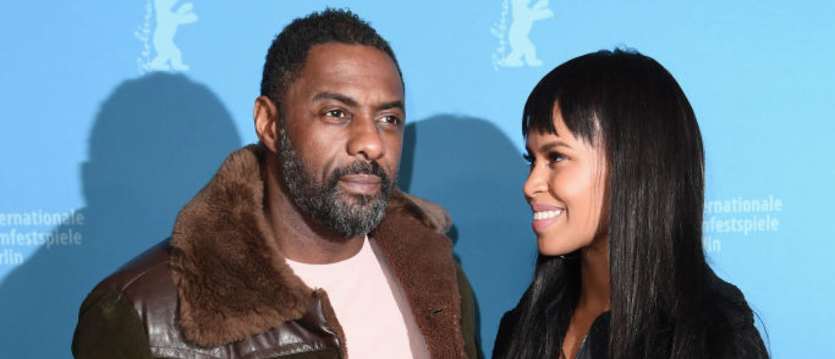BERLIN, GERMANY - FEBRUARY 22:  Idris Elba and his girlfriend Sabrina Dhowre attend the 'Yardie' premiere during the 68th Berlinale International Film Festival Berlin at Zoo Palast on February 22, 2018 in Berlin, Germany.  (Photo by Matthias Nareyek/Getty Images)