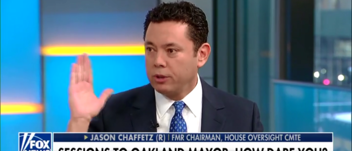 Jason Chaffetz Wants Oakland Mayor Dragged Before Congress For Interfering with ICE Raid - Fox & Friends 3-8-18