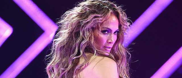 MINNEAPOLIS, MN - FEBRUARY 03: Recording artist Jennifer Lopez performs onstage during the 2018 DIRECTV NOW Super Saturday Night Concert at NOMADIC LIVE! at The Armory on February 3, 2018 in Minneapolis, Minnesota. (Photo by Kevin Winter/Getty Images for DirecTV)