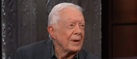 Jimmy Carter Swipes At Trump, Jokes About Crowd Size At Liberty University Commencement Speech