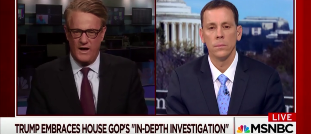 Joe Scarborough Must Have Read The 150 Page House Intel Report Or He's Spewing Some Insane Nonsense On Trump 3-13-18