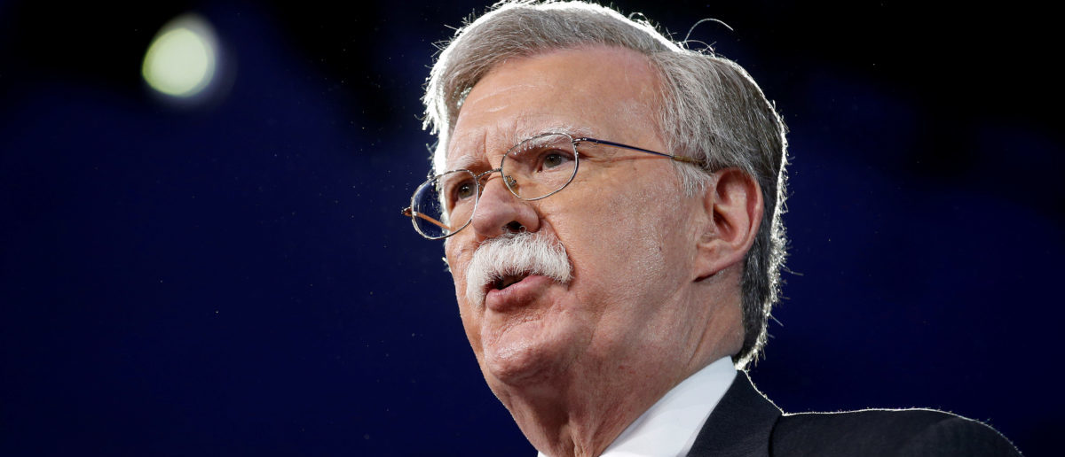 Former U.S. Ambassador to the United Nations John Bolton speaks at the Conservative Political Action Conference (CPAC) in Oxon Hill, Maryland, U.S. February 24, 2017. REUTERS/Joshua Roberts/File Photo