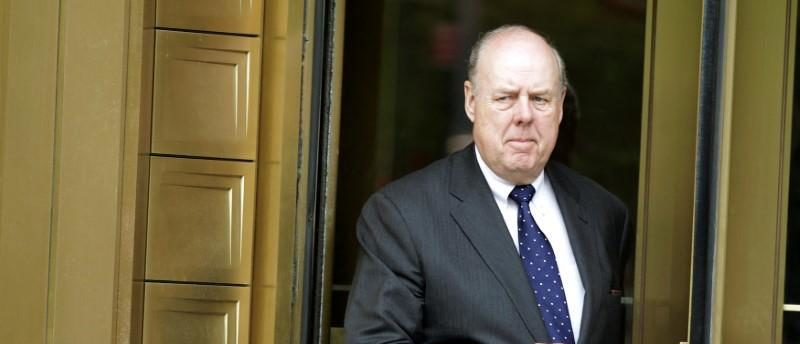 FILE PHOTO: Lawyer John Dowd exits Manhattan Federal Court in New York May 11, 2011. REUTERS/Brendan McDermid/File photo