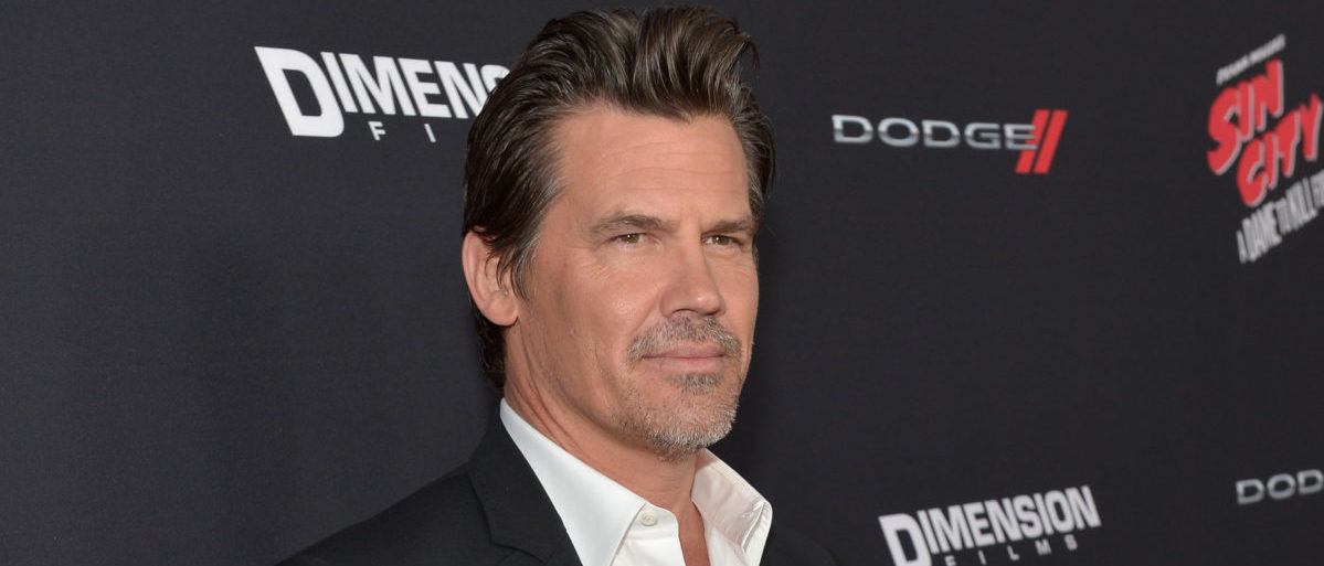"""HOLLYWOOD, CA - AUGUST 19:  Actor Josh Brolin attends """"SIN CITY: A DAME TO KILL FOR"""" premiere presented by Dimension Films in partnership with Time Warner Cable, Dodge and DeLeon Tequila at TCL Chinese Theatre on August 19, 2014 in Hollywood, California.  (Photo by Charley Gallay/Getty Images for The Weinstein Company)"""
