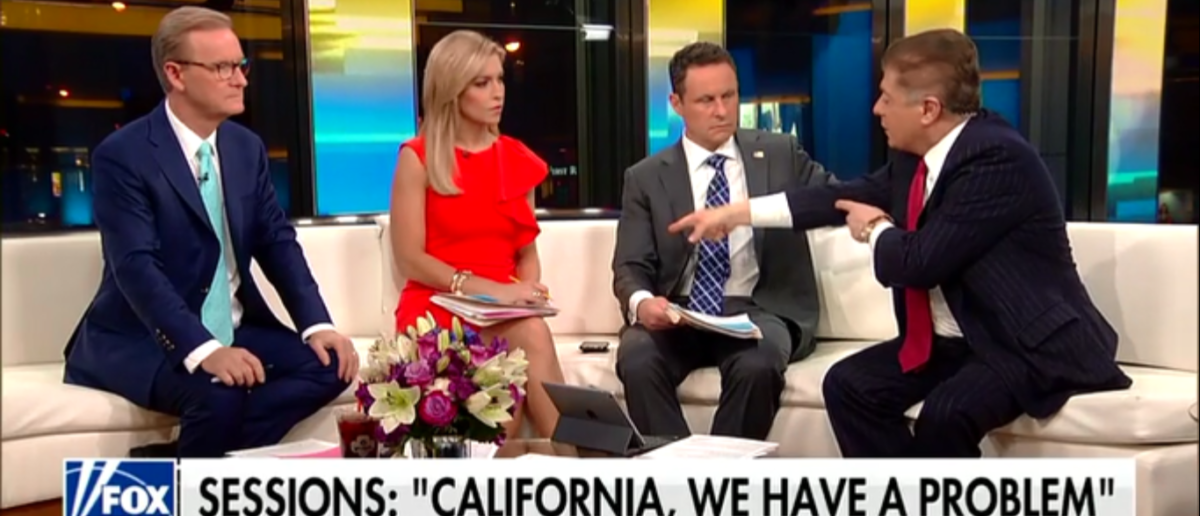 Judge Napolitano Shocked By California Immigration Law Nothing Like It Since The Civil War - Fox & Friends 3-15-18