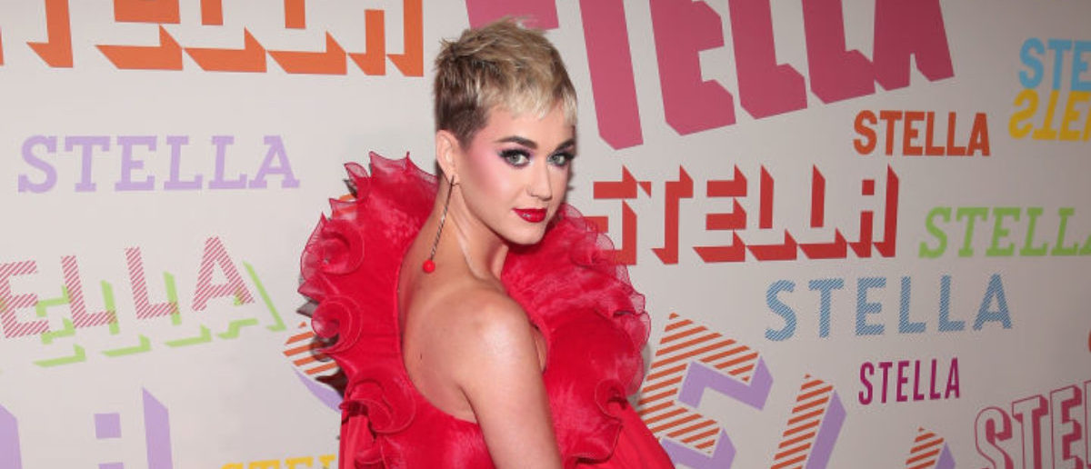 Katy Perry attends Stella McCartney's Autumn 2018 Collection Launch on January 16, 2018 in Los Angeles, California. (Photo by Christopher Polk/Getty Images)