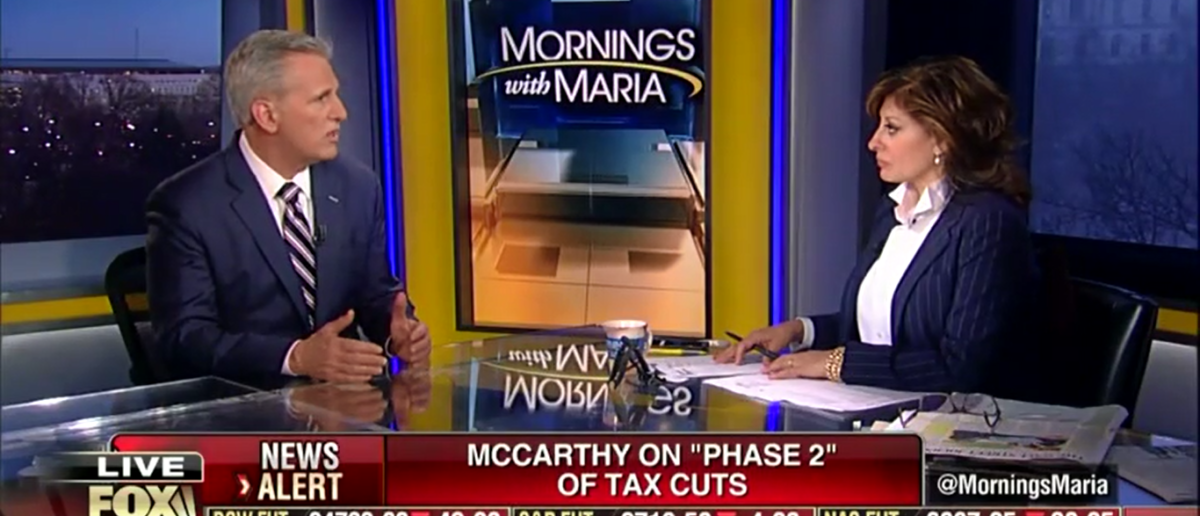Kevin McCarthy Thinks Phase Two Of Trump's Tax Plan Will Spark 'America's Comeback' - Fox Business 3-21-18