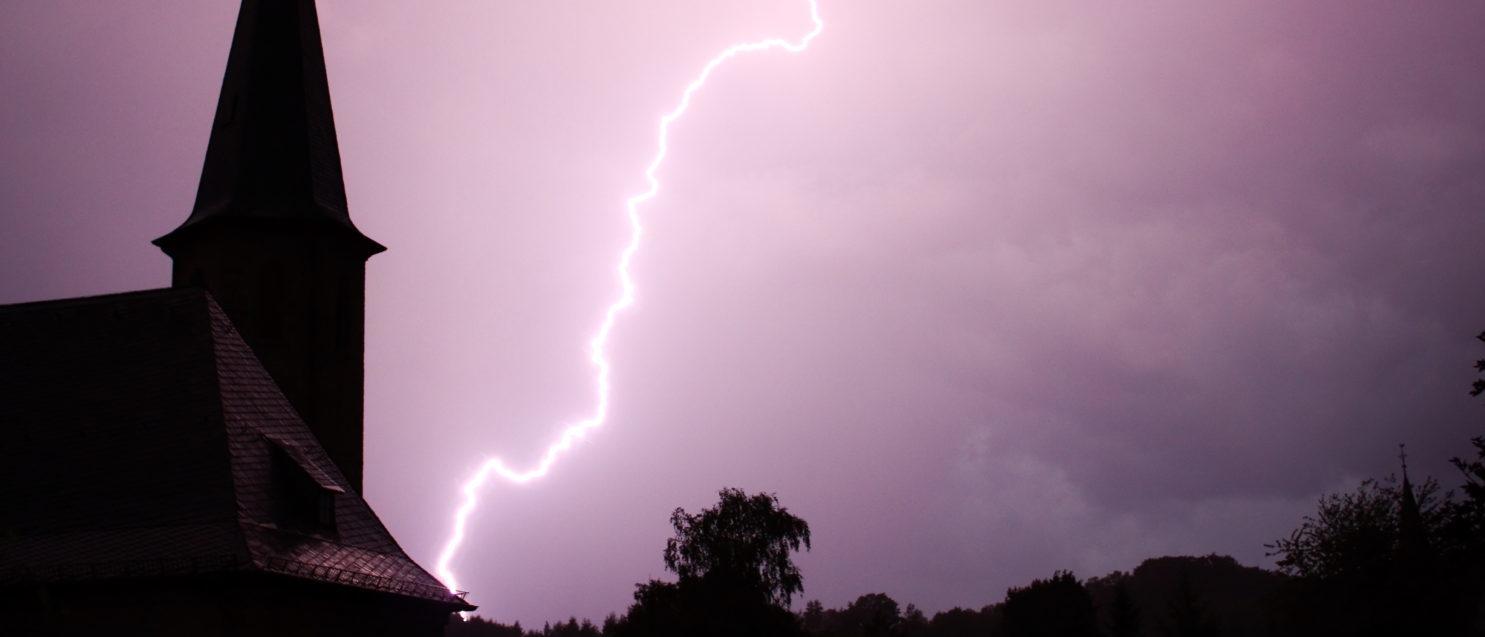 Lightning Strikes A Church (Shutterstock/ Viktor Wink) |Lightning Kills 16 In Rwandan Church