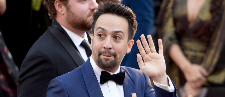 HOLLYWOOD, CA - MARCH 04: Lin-Manuel Miranda attends the 90th Annual Academy Awards at Hollywood & Highland Center on March 4, 2018 in Hollywood, California. (Photo by Matt Winkelmeyer/Getty Images)