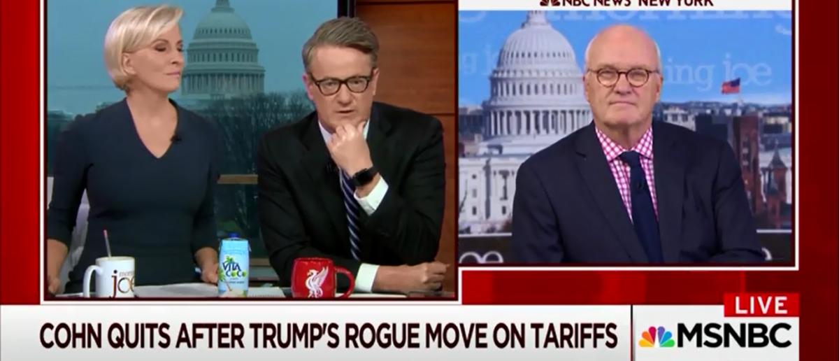 MSNBC's Joe Scarborough Calls Trump Tariffs 'Witchcraft Economics' - Morning Joe 3-7-18
