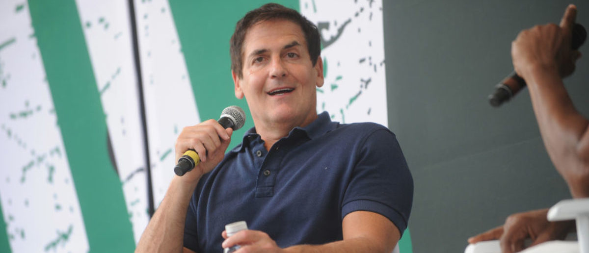 Mark Cuban speaks onstage during OZY FEST 2017 Presented By OZY.com at Rumsey Playfield on July 22, 2017 in New York City. (Photo by Brad Barket/Getty Images for Ozy Fusion Fest 2017)