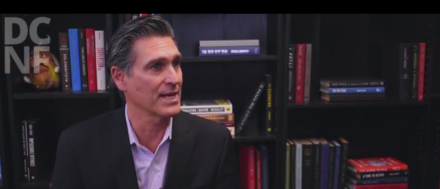 "Mark Ciardi, prodcuer of the movie ""Chappaquiddick"" speaks with The Daily Caller News Foundation. (Screenshot/YouTube/DailyCallerNewsFoundation)"