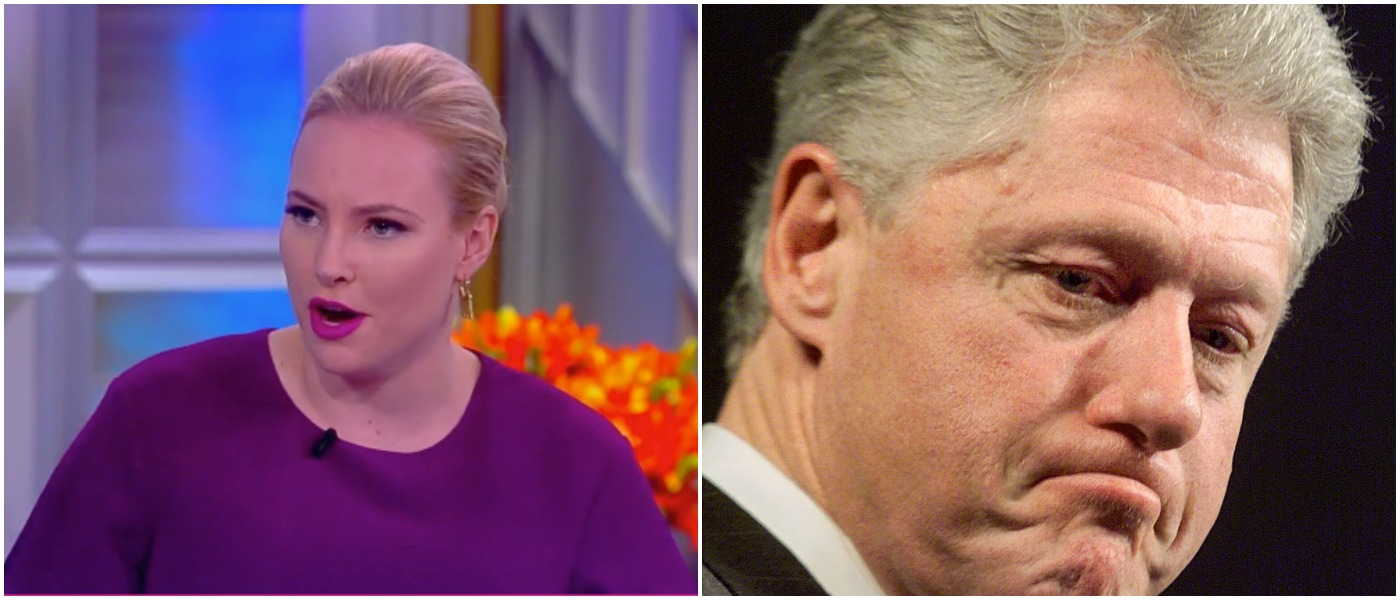 McCain Clinton Left: ABC screenshot Right: STEPHEN JAFFE/AFP/Getty Images