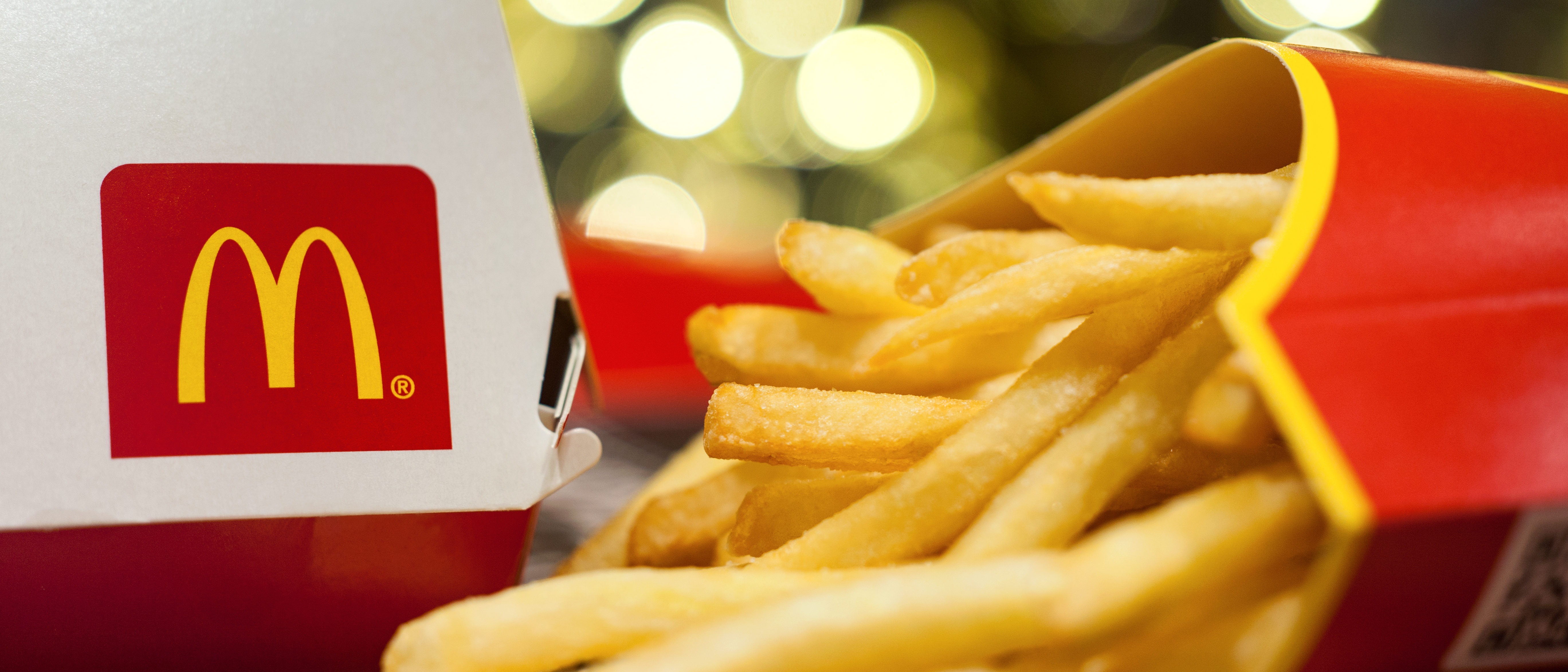 McDonald's logo and French fries (Shutterstock/8th.creator)