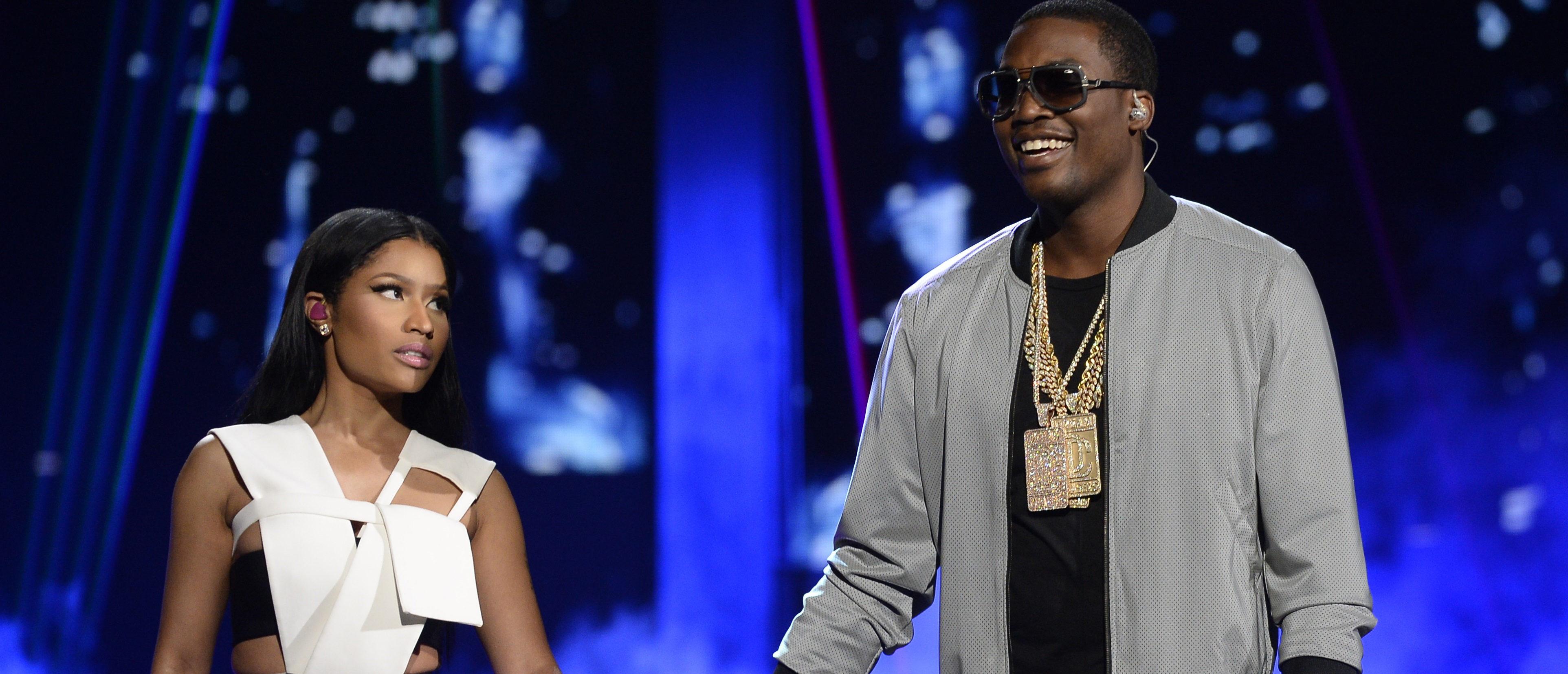 Nicki Minaj and Meek Mill perform during the 2015 BET Awards in Los Angeles, California, June 28, 2015. REUTERS/Kevork Djansezian -
