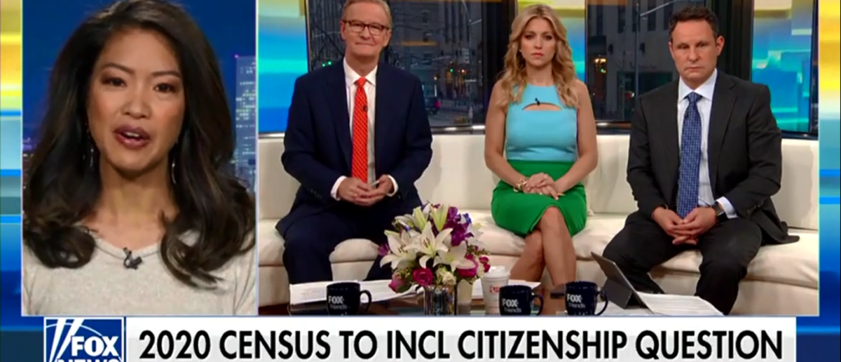 Michelle Malkin Says Liberals Are Calling The Kettle Black On Census Issue 'It Is Complete Insanity - Fox & Friends 3-28-18
