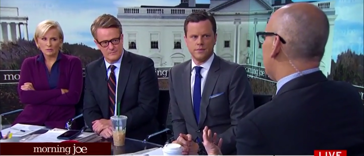 'Morning Joe' Still Thinks Stormy Daniels Can Topple Trump's Presidency - MSNBC 3-16-18 (Screenshot/MSNBC)