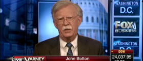 John Bolton Barrels Over North Korea In First Interview Since Appointment [VIDEO]
