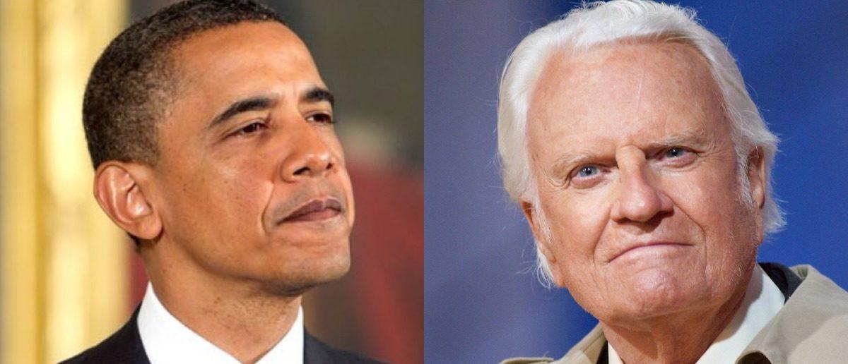 Barack Obama and Billy Graham (Getty/Mark Wilson/Alex Wong/Getty)