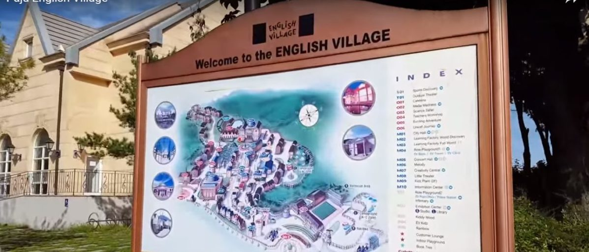 "North Korea has bizarre ""Little England"" in Paju. YouTube via Travel with Aghassi"