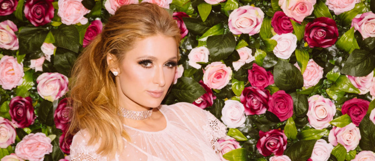 Paris Hilton photographed at the Rosé Rush MTV launch party during a promotion visit to Australia to launch her 23rd fragrance, Rosé Rush on November 29, 2017 in Sydney, Australia. (Photo by Cole Bennetts/Getty Images for Paris Hilton)