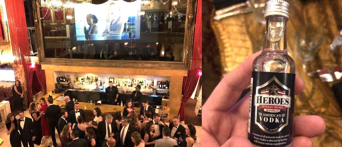 A patriotic Oscars party. (The Daily Caller/Benny Johnson)