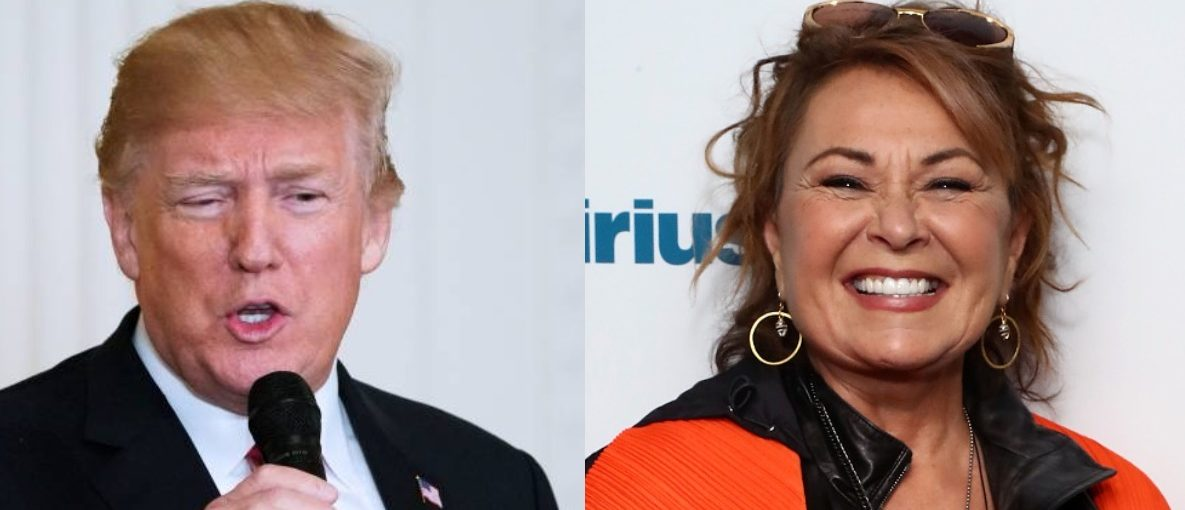 President Donald Trump/Roseanne/Getty Images