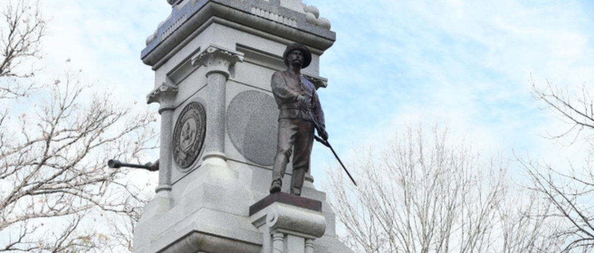 Here is one of the Confederate monuments outside of the state capitol in Raleigh, North Carolina. (Shutterstock/ying) | Committee Urged To Keep Confed. Statues
