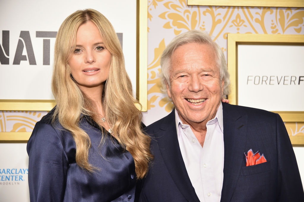 Robert Kraft, 76, Not the Father of 38-Year-Old GF's Baby