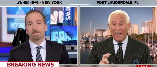 Roger Stone MSNBC screenshot